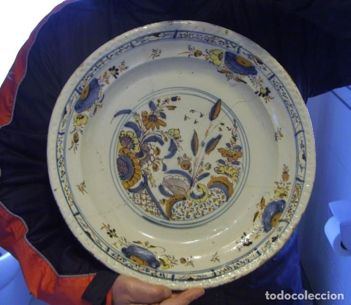 Antigüedades: ROTUNDO Y GRAN PLATO DE TRIANA XVIII - Foto 17 - 116740691