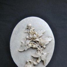Antigüedades: ESCULTURA CHINA TALLADA EN PIEDRA DE JABON EN BUEN ESTADO. Lote 116741171