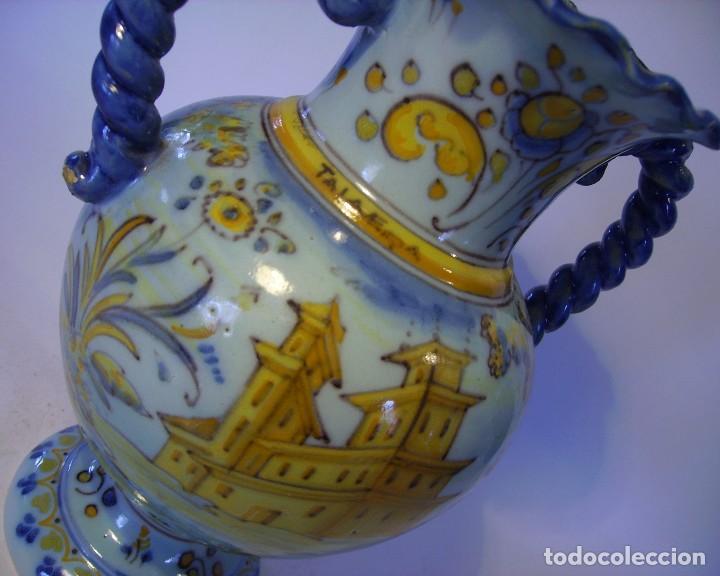 Antigüedades: JARRÓN CERÁMICA DE TALAVERA ( JUAN RUIZ DE LUNA ) - Foto 16 - 116741343