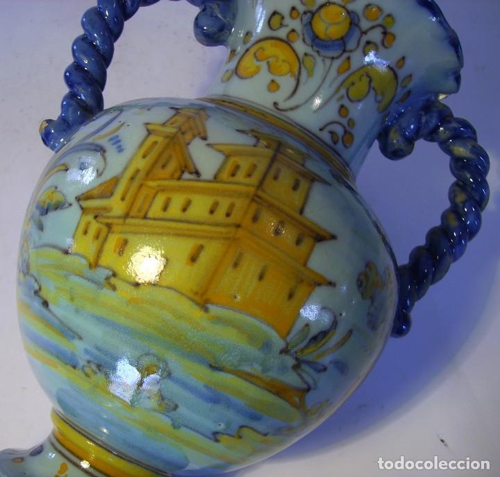 Antigüedades: JARRÓN CERÁMICA DE TALAVERA ( JUAN RUIZ DE LUNA ) - Foto 20 - 116741343