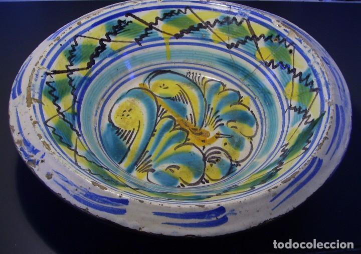 Antigüedades: LEBRILLO DE CERÁMICA DE TRIANA XIX - Foto 2 - 116741583