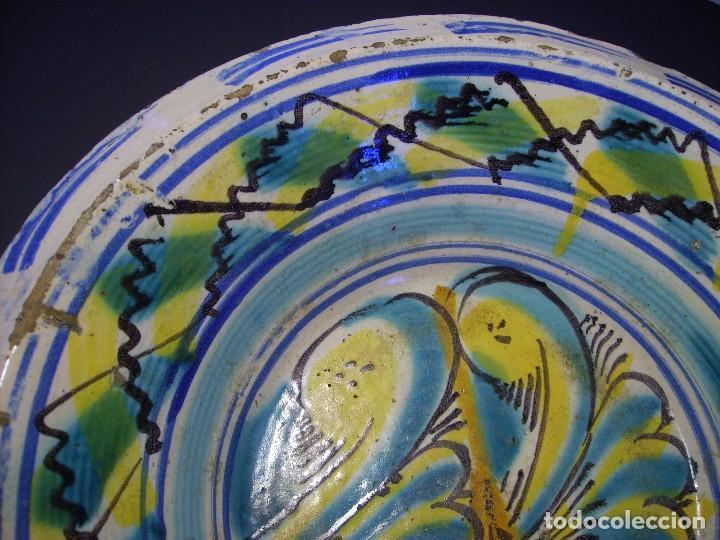 Antigüedades: LEBRILLO DE CERÁMICA DE TRIANA XIX - Foto 3 - 116741583
