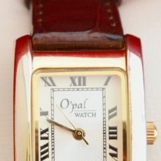 Relojes: PRECIOSO RELOJ DE PULSERA MUJER OPAL WACH FIRMA LAUSSANE FUNCIONANDO. Lote 53714754