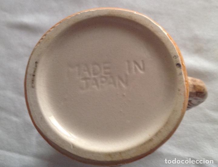 Antigüedades: JARRA DE CERAMICA CON RELIEVE JAPONESA - Foto 5 - 116781403