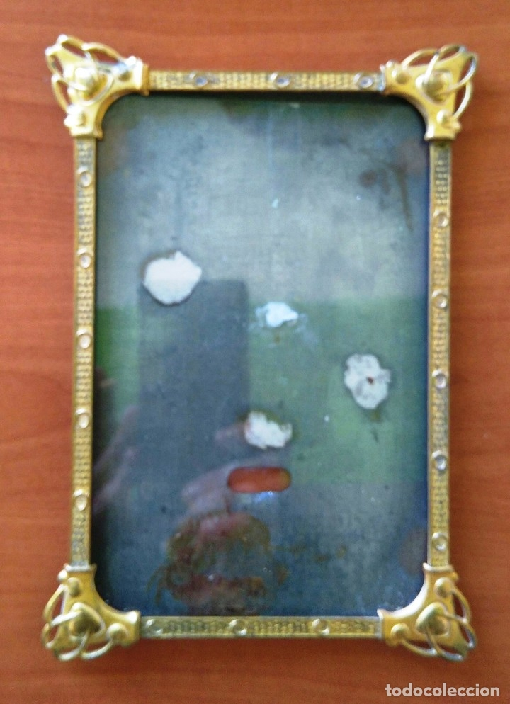 marco modernista de bronce - 19 x 13 cm - Comprar Marcos Antiguos de ...