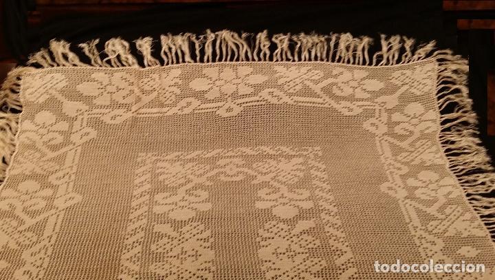 Antigüedades: Mantel de seda Art Deco - Foto 4 - 116812203