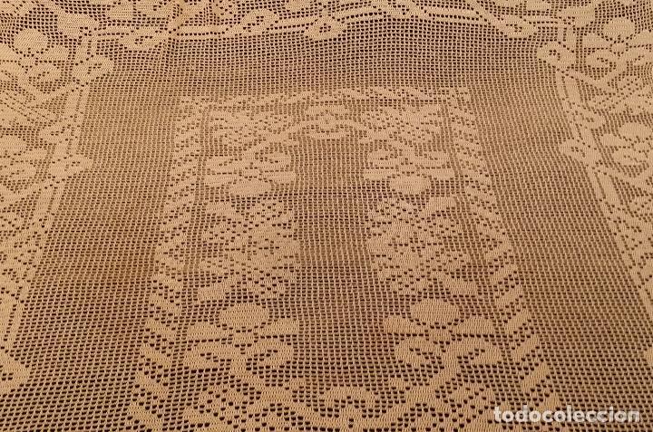 Antigüedades: Mantel de seda Art Deco - Foto 5 - 116812203