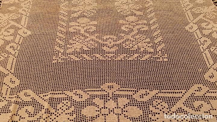 Antigüedades: Mantel de seda Art Deco - Foto 6 - 116812203