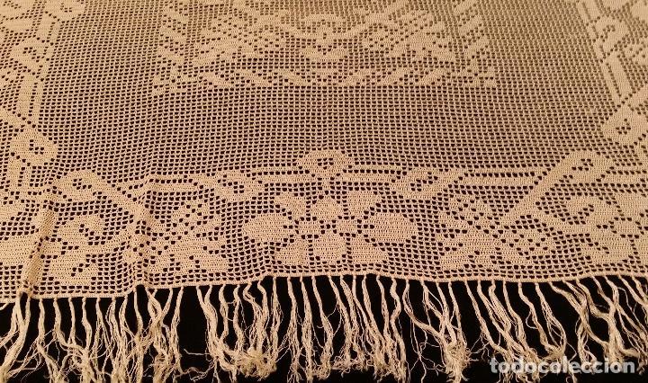 Antigüedades: Mantel de seda Art Deco - Foto 7 - 116812203