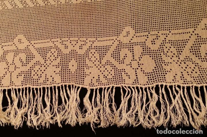 Antigüedades: Mantel de seda Art Deco - Foto 8 - 116812203