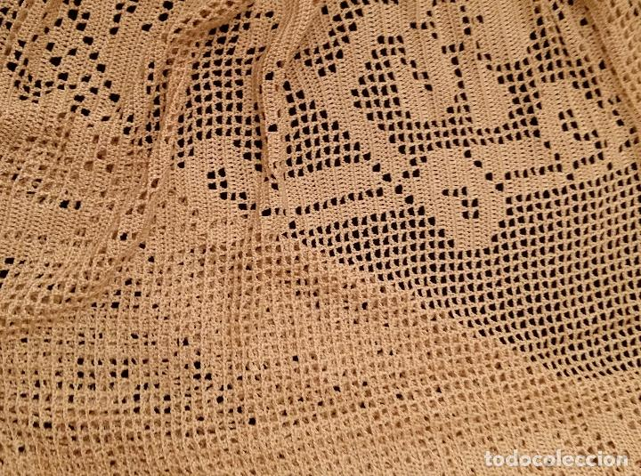 Antigüedades: Mantel de seda Art Deco - Foto 10 - 116812203