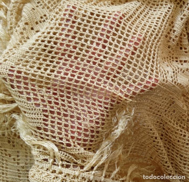 Antigüedades: Mantel de seda Art Deco - Foto 12 - 116812203