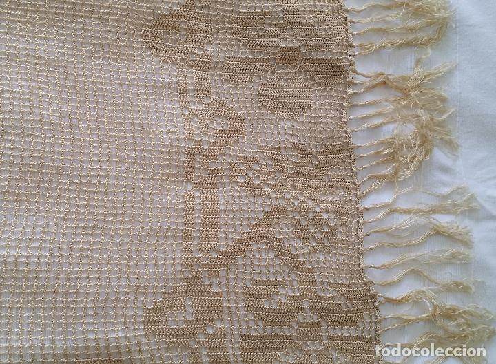 Antigüedades: Mantel de seda Art Deco - Foto 13 - 116812203