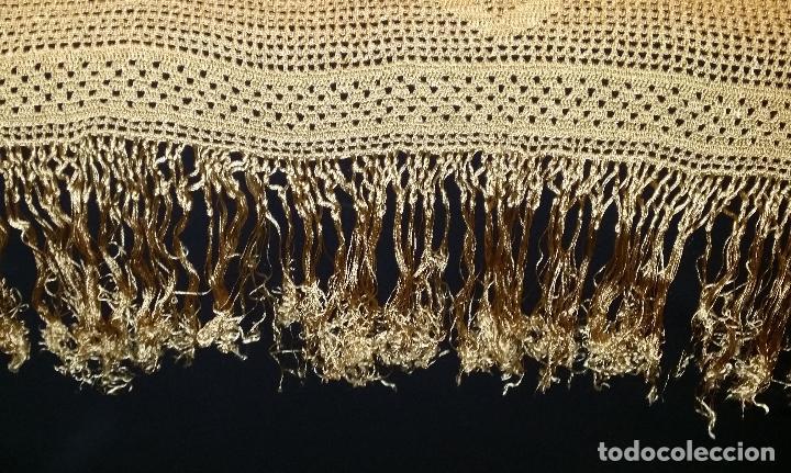 Antigüedades: Mantel de seda Art Deco - Foto 3 - 116815175