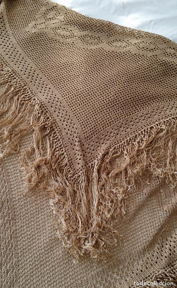 Antigüedades: Mantel de seda Art Deco - Foto 4 - 116815175