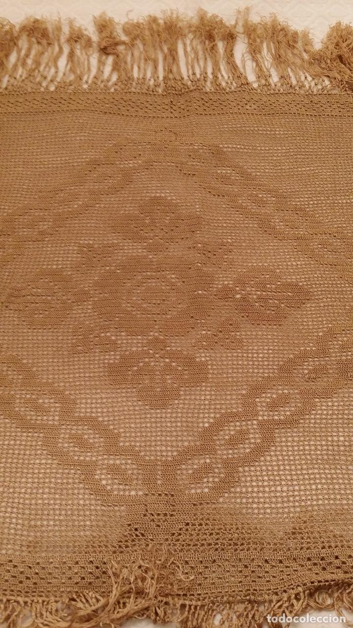 Antigüedades: Mantel de seda Art Deco - Foto 5 - 116815175