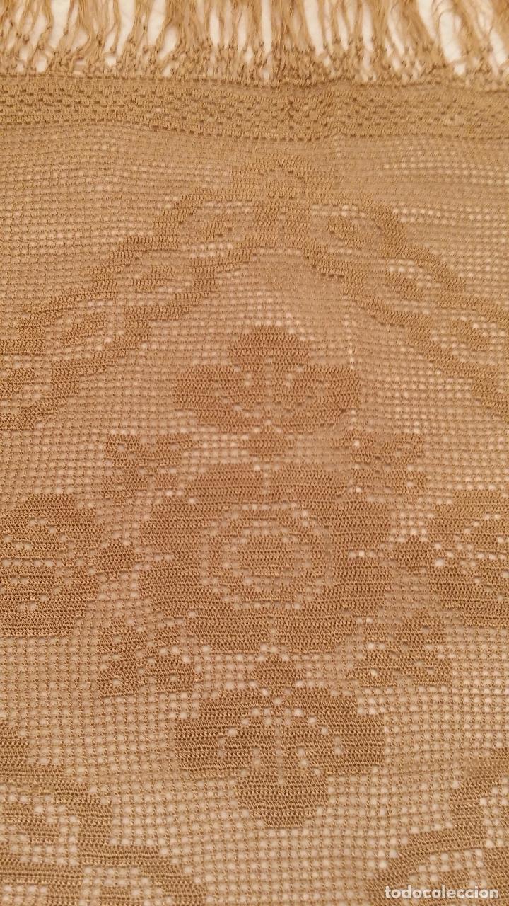 Antigüedades: Mantel de seda Art Deco - Foto 6 - 116815175