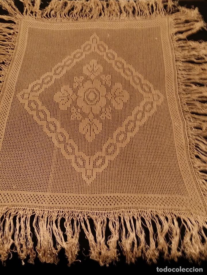 Antigüedades: Mantel de seda Art Deco - Foto 7 - 116815175