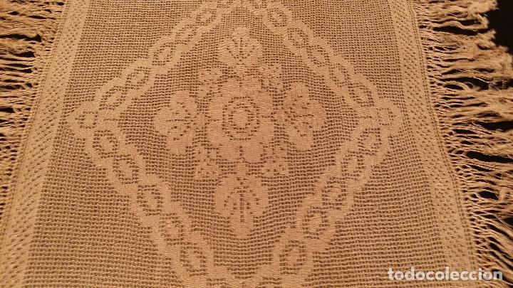 Antigüedades: Mantel de seda Art Deco - Foto 8 - 116815175