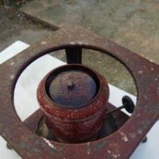 Antigüedades: HORNILLO PARA COCINAR A PETROLEO PARA RESTAURAR. Lote 116824403