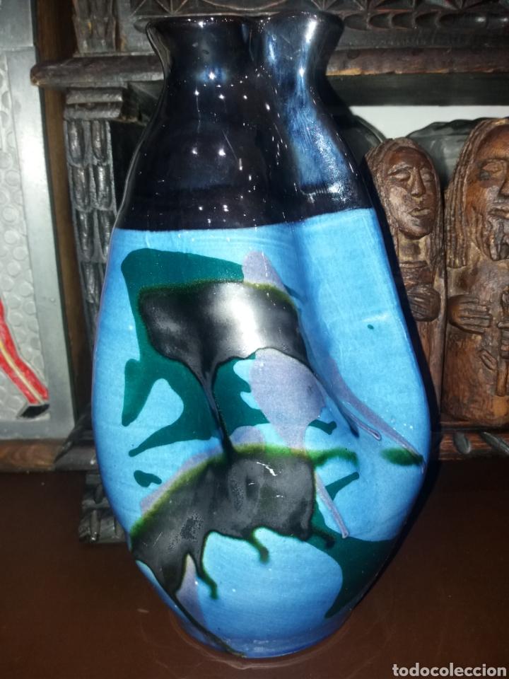 Antigüedades: Precioso jarrón de Tomás Buxo. - Foto 2 - 116852611