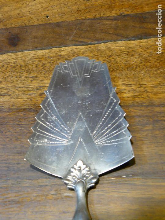 ANTIGUA PALA DE PLATA 800 PARA SERVIR POSTRES (Antigüedades - Platería - Plata de Ley Antigua)
