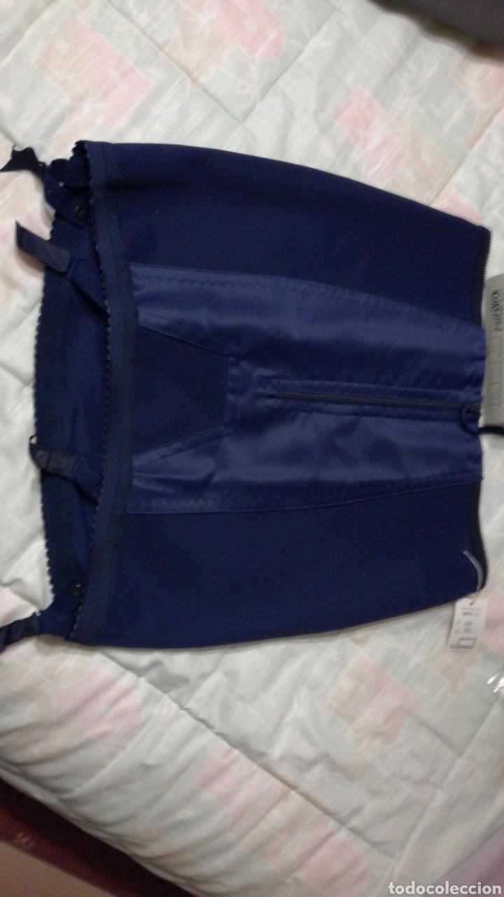 d01b7fafd 2 fajas de señora azules para falda con liguero - Vendido en Venta ...