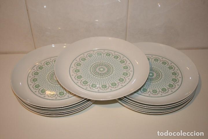 Antigüedades: 72 piezas de vajilla de porcelana Bidasoa. Año 1969. - Foto 10 - 116868231