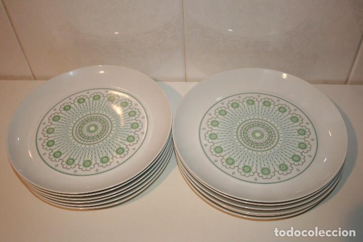 Antigüedades: 72 piezas de vajilla de porcelana Bidasoa. Año 1969. - Foto 11 - 116868231