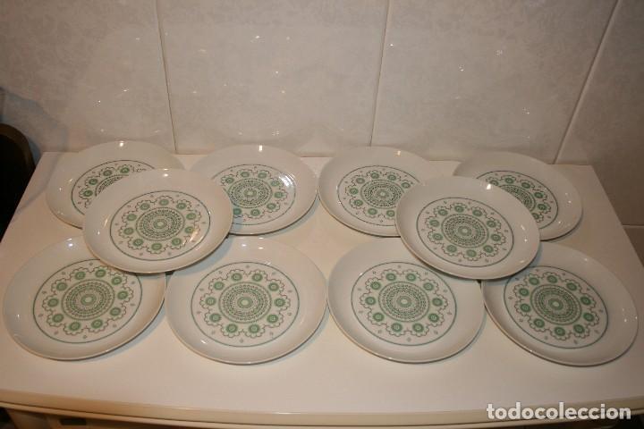 Antigüedades: 72 piezas de vajilla de porcelana Bidasoa. Año 1969. - Foto 12 - 116868231
