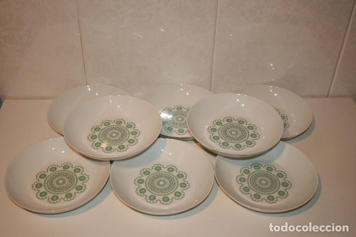 Antigüedades: 72 piezas de vajilla de porcelana Bidasoa. Año 1969. - Foto 13 - 116868231