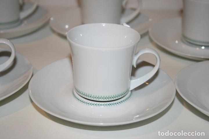 Antigüedades: 72 piezas de vajilla de porcelana Bidasoa. Año 1969. - Foto 22 - 116868231