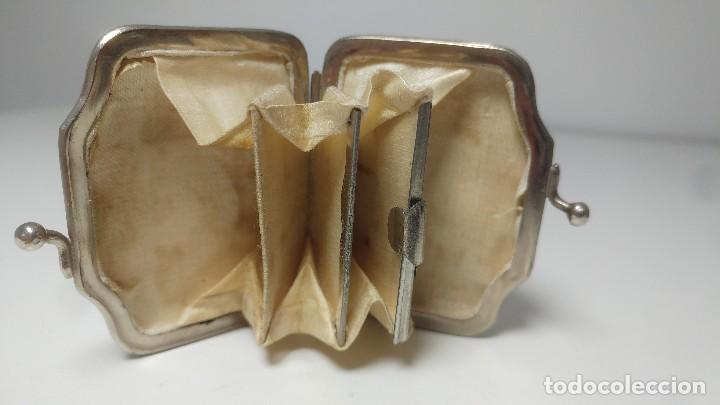 Antigüedades: MONEDERO EN MARFIL SIGLO XIX - Foto 9 - 116869319