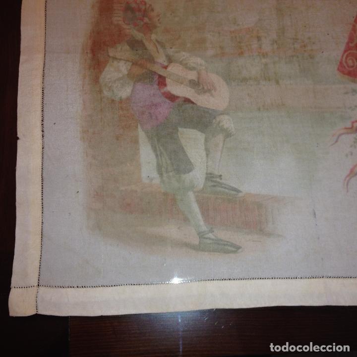 Antigüedades: ANTIGUO Y ORIGINAL PAÑUELO EN SEDA PINTADA -VIRGEN DEL PILAR CON BANDERA REPÚBLICANA- VER FOTOS - - Foto 17 - 116916347