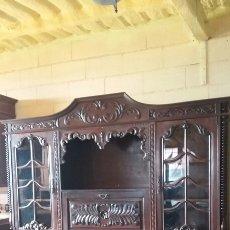 Antigüedades: MUEBLE APARADOR TALLADO EN SUPER OFERTA. Lote 116933063
