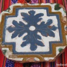 Antigüedades: AZULEJO ANTIGUO DE TOLEDO. ARISTA. RENACIMIENTO : SIGLO XVI.. Lote 116940811
