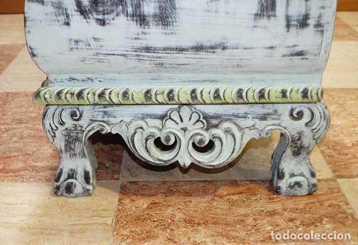 Antigüedades: ANTIGUO APARADOR DECAPADO - IDEAL DECO RETRO - VINTAGE - Foto 9 - 116942839