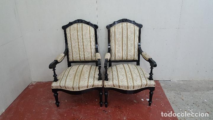 Antigüedades: TRESILLO ALFONSINO - Foto 10 - 116945047