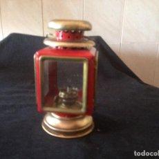Antigüedades: ANTIGUA FAROLILLO CARBURO MADIN HONC KONG. Lote 116967671