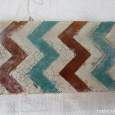 Antigüedades: AZULEJO DE TABLA. Lote 133991155