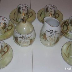 Antigüedades: JUEGO DE CAFÉ CAPEANS . Lote 117001247