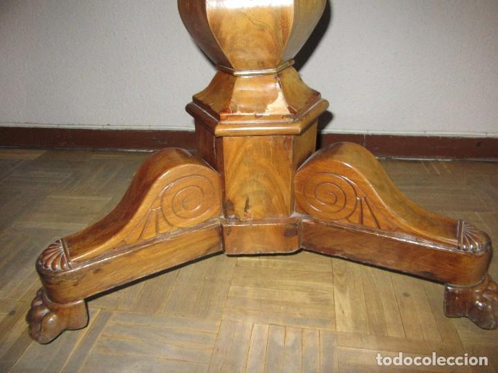 Antigüedades: MESA VELADOR ANTIGUA - Foto 3 - 117002627