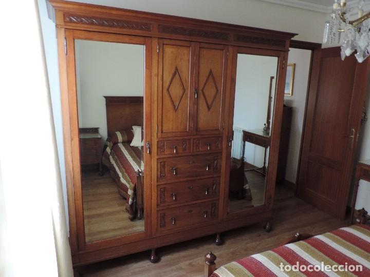 dormitorio completo de caoba maciza (exterior e - Comprar Armarios ...