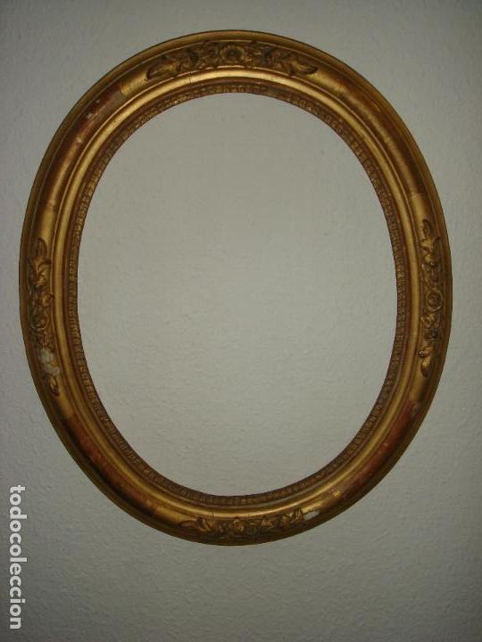 antiguo marco ovalado con motivos florales, en - Comprar Marcos ...