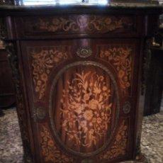 Antigüedades: GABINETE MARQUETEADO-ENTREDOS-. Lote 230250585