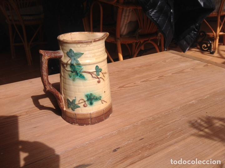 ANTIGUA JARRA DE VINO (Antigüedades - Porcelanas y Cerámicas - Otras)