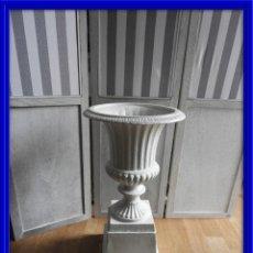 Antigüedades: COPA DE HIERRO MEDICI CON PEDESTAL. Lote 192210182