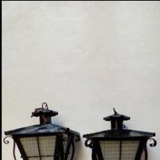 Antiquitäten - faroles de forja -pareja- - 117030535