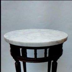 Antigüedades: MESA AUXILIAR DE SALA -. Lote 117031059