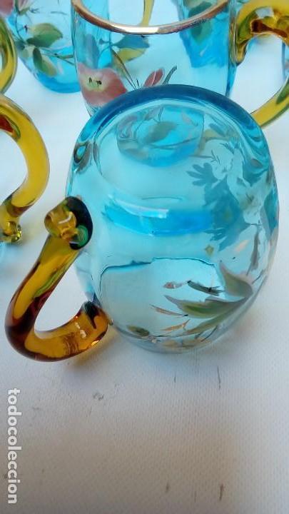 Antigüedades: ponchera y servicio con bandeja- - Foto 11 - 116750291